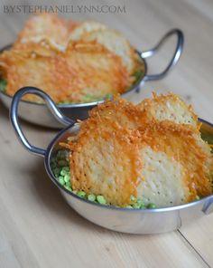Baked Parmesan Crisps | Quick Homemade Snack Recipe - bystephanielynn
