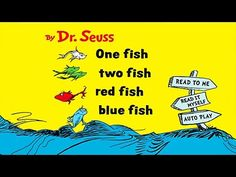 (2) One Fish Two Fish Red Fish Blue Fish Read Aloud Story by Dr  Seuss, fairy tales ,  Storybook English - YouTube