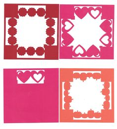 """border maker 4"""" squares - use for layouts and cards"""