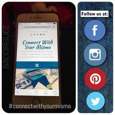 Like y share a nuestra pagina: https://m.facebook.com/connectwithyourmisma/ y búscanos en las otras redes con #connectwithyourmisma #blog