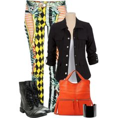 """Crazy Pants"" by johnna-cameron on Polyvore"