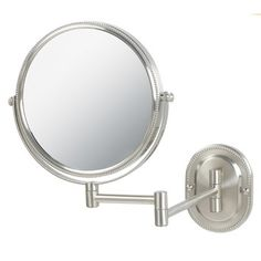 Jerdon Dual Sided Wall Mount Mirror $33