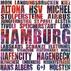 """""""HUMMEL, HUMMEL""""!    City-Prints like this are available on my website. If you'd like to get YOUR city as a print like this, just send me a message..."""