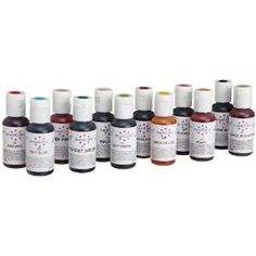 AmeriColor #1 Color Kit Soft Gel Paste Food Color, 12 Pack
