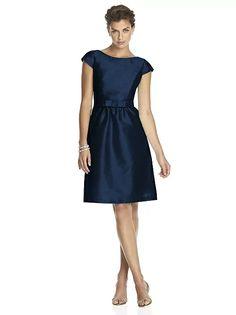 Alfred Sung Bridesmaid Dress D570 http://www.dessy.com/dresses/bridesmaid/d570/?color=midnight&colorid=47#.VqnADPl96M8