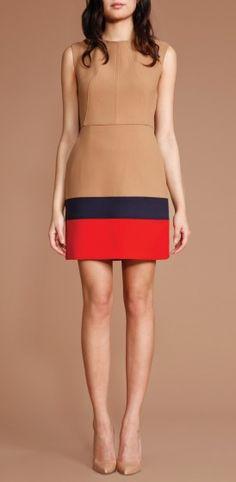 Shoshanna | Double Crepe Trina Dress - Dresses