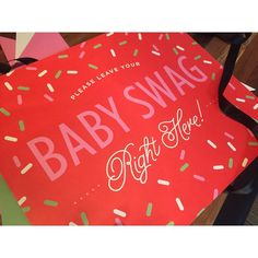 Dill-lightful baby showers bring baby swag! 👶🏼🍼🎀💚 | @chereeberrypaper…