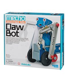 Take a look at this Motorized Clawbot today!