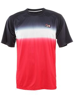 Now this is a shirt I could wear.  Fila Men's Spring Heritage Dip Dye Crew.  #tennis