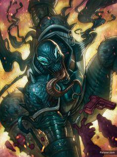 Agent venom by Rafater by rafater on DeviantArt