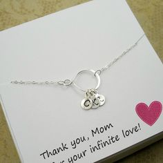 Personalized Mom Gifts by StarringYouJewelry #momgifts #giftsformom #personalizedmom