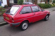 1987 Ford Fiesta Popular Plus 4spd Red Mk2  - http://classiccarsunder1000.com/?p=74351
