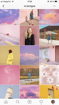 Feed de colores pasteles Cool Instagram, Instagram Design, Instagram Feed Ideas Posts, Instagram Feed Layout, Instagram Grid, Organizar Feed Instagram, Pastel Feed, Ig Feed Ideas, Web Design