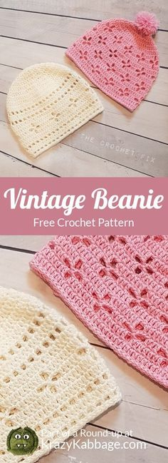 Fantastic No Cost crochet beanie hat Popular Boho Free Crochet Patterns – Krazy Kabbage Boho Crochet Patterns, Crochet Beanie Pattern, Crochet Stitches, Crochet Baby Beanie, Crochet Baby Headbands, Crocheting Patterns, Crochet Vintage, Bonnet Crochet, Crochet Baby Dresses