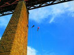 Abseiling Down the Forth Rail Bridge in South Queensferry, Edinburgh | Europe a la Carte Travel Blog