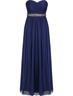 Forever New Navy Monique Tulle Maxi Dress - Can be worn in 8 different ways! Forever New, All Brands, Evening Gowns, Snow White, Tulle, Bridesmaid, Club, Navy, Formal Dresses