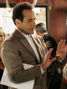 Tony Shalhoub as Adrian Monk - one of my favorite characters of all time. I really miss this show!!