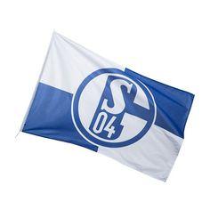 Schalke Hissfahne Karo 150x250 cm | Jetzt im offiziellen S04 Fanshop kaufen