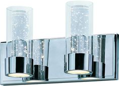 Maxim Lighting 20902CLPC Sync 2-Light LED Vanity