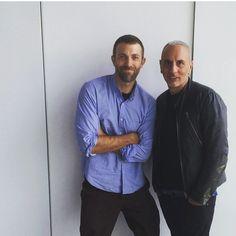 #AlessandroDellAcqua Alessandro Dell'Acqua: Me and @jaymassacret #n21 resort NYC @KARLAOTTO