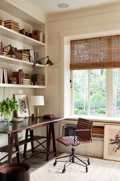 Office Decor Ideas · THE OFFICEClean, Spare, And Light Filled, The Home  Office Makes Working From