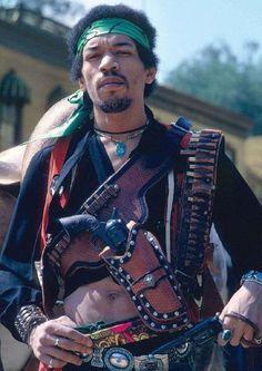 Jimi Hendrix pictured in 1967.