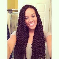 Astonishing Hair Twists And Kanekalon Hair On Pinterest Hairstyles For Women Draintrainus