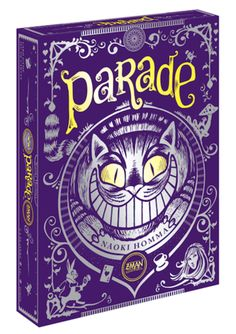 Just bought it, playing soon. Parade. Alice in Wonderland themed card game. Gorgeous artwork.