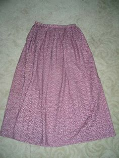 Buns and Baskets: The Not-So-Pioneer Skirt Tutorial