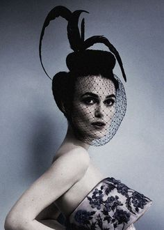 """Keira Knightley in """"Poise and Passion"""" by Mario Testino for Vogue US October 2012"""