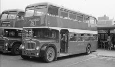 Bristol Lodekka 730 at Bedford Bus Station