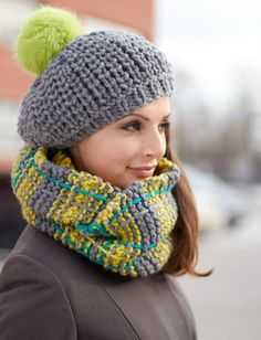 Yarnspirations.com - Bernat Winter Weather Set - Patterns  | Yarnspirations