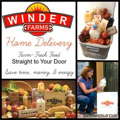 Winder Farms Home Delivery Service. Farm-fresh food, straight to your door from WinderFarms.com! #groceries #produce