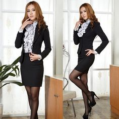efab0964ee61 Winter Business Clothes for Women 89 Counters Authentic 2012 Wear Women S  Student Set Fall and 5
