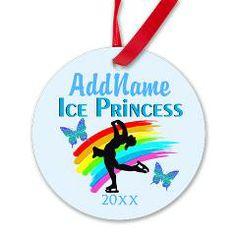 #FigureSkating #FigureSkatingGifts #IloveFigureSkating #personalizedfigureskating #SkatingQueen #IcePrincess  Personalized dated ornaments and inspiring Figure Skating gifts at www.cafepress.com/SportsStar