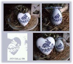 Ein kleines Motiv, vielleicht noch für Ostern zu sticken ;-)       Viel Spass beim sticken und über  ein Foto Eure r Stickerei würde ich...