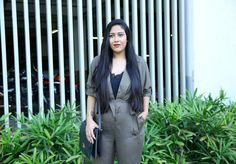 Fashion fix for warm winters- Olive Jumpsuit    Winter has commenced & with it brings warm cocoas cosy sweaters and ankle to knee length boots. But for those in Mumbai where I stay it is mostly summer all year. During winters the nights get cooler but during the daytime its sweltering! Hence I wanted to invest in some outfits that suit the weather while maintaining the feel of the season. Thats when I decided to check the online scene and see if I find anything which suits my requirements…