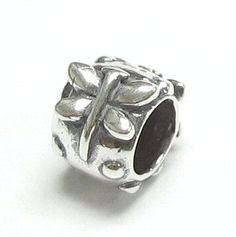 3517de37f Queenberry (Free S/H) Sterling Silver Dragonfly Bead Charm For Pandora  Troll Biagi Chamilia European Charm Bracelets