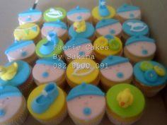 baby shower cupcakes Baby Shower Cupcakes, Novelty Cakes, Desserts, Food, Tailgate Desserts, Deserts, Eten, Postres, Dessert