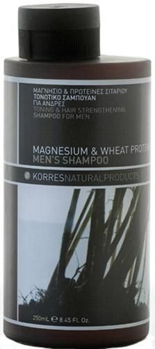 Korres - Men Care - Magnesium & Wheat Shampoo