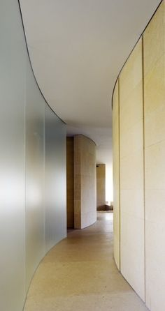 Beautiful finishes but it's the anticipation of what's beyond that makes this work appartamento p, milano