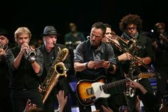 """""""Congratulations! We are glad to inform you...""""  Bruce Springsteen and the E Street Band. High Hopes tour. April 15 2014's show in Columbus - OH"""
