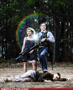 Zombie Apocalypse Engagement Photos - Your special day. is hilarious. Funny Engagement Photos, Engagement Shoots, Engagement Photography, Funny Photography, Photography Ideas, Zombie Wedding, Wedding Humor, Plan My Wedding, Dream Wedding