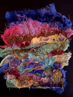 textile fibre 09 by Made by Lisa Jane, via Flickr
