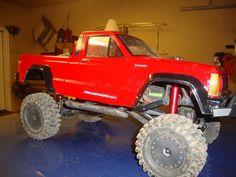 My SCX-10 with Jeep Comanche Body