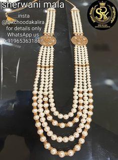 Punjabi Traditional Jewellery, Bridal Chura, Sherwani, Groom, My Etsy Shop, Pearls, Check, Jewelry, Fashion