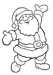 Mural De Natal Molde De Papai Noel Ampliado Para Feltro Ou