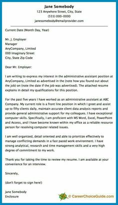 Cover letter outline cover letter tips life lessons pinterest sample cover letters for executive assistant here is a cover letter sample to give you some ideas and expocarfo Choice Image