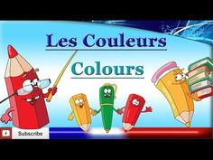 Learn French - Colours / Colors - Les couleurs - YouTube