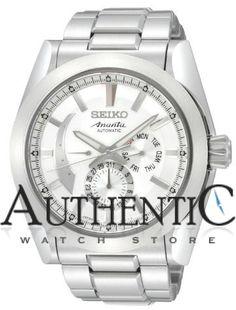 Seiko SPB017 Watch Ananta Mens - White Dial